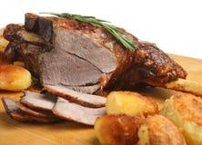 Free Roast Leg Of Lamb Stock Image - 8981151