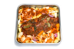 Roast meat Stock Photography