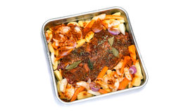 Roast meat Stock Photography