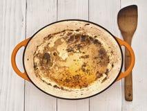 Roast meat pan juices Stock Photos