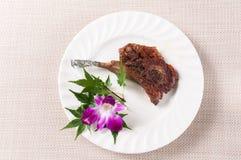 Roast mutton chops Stock Image