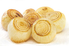 Roast Onions Stock Photography