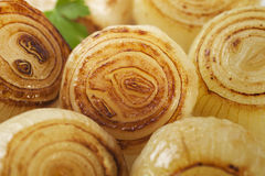 Roast Onions Royalty Free Stock Photography