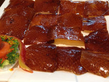 Roast peking duck Stock Photos