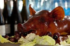 Roast pig Stock Image