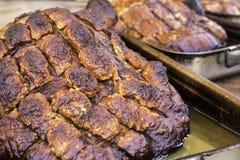 Roast pig roast Stock Image