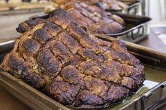 Roast pig roast Stock Photo
