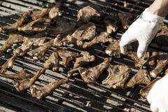 Roast pig roast Stock Images