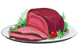 Roast pork Royalty Free Stock Photography