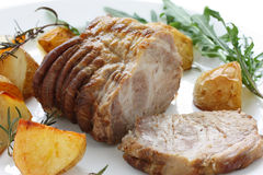 Roast pork Stock Photos