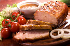 Roast pork  Royalty Free Stock Photo