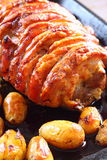 Roast pork D Stock Photo