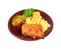 Roast pork dinner Stock Image