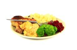 Roast pork dinner Royalty Free Stock Photography