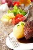 Roast pork dish Royalty Free Stock Photos