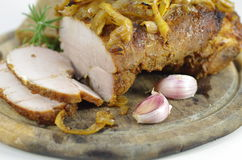 Roast pork meat Royalty Free Stock Images
