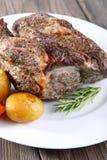 Roast pork neck Royalty Free Stock Images