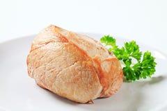 Roast pork Stock Image