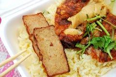Roast pork rice Royalty Free Stock Image