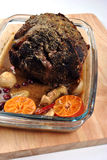 Roast pork and some spice, ready to eat. Organic roast pork and some spice, ready to eat Royalty Free Stock Image