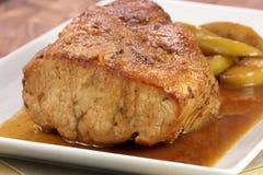 Roast pork tenderloin Stock Photos
