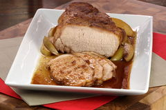 Roast pork tenderloin Stock Photo