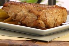 Roast pork tenderloin Stock Photography