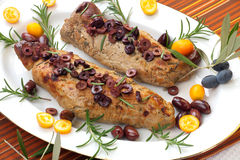 Roast Pork Tenderloin Stock Images