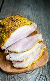 Roast Pork Tenderloin Stock Photography