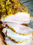 Roast Pork Tenderloin Royalty Free Stock Photography