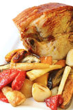 Roast Pork and Vegetables Royalty Free Stock Photography