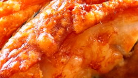 Roast pork A stock video