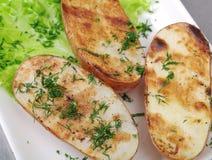 Roast potato Stock Image