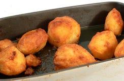 Roast potatoes. Royalty Free Stock Photography