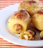 Roast potatoes Stock Image