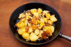 Roast potatoes Royalty Free Stock Images