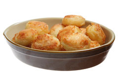Roast Potatoes Stock Photography