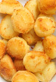 Roast Potatoes Stock Photography