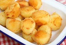 Roast Potatoes Royalty Free Stock Photo