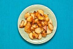Roast potatoes Stock Images