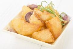 Roast Potatoes Stock Image
