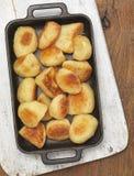 Roast Potatos Royalty Free Stock Photos