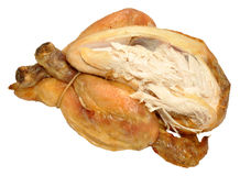 Roast Poussin Chicken stock photography