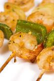 Roast prawns Royalty Free Stock Images