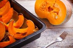 Roast pumpkin Stock Image
