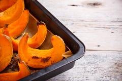 Roast pumpkin Royalty Free Stock Photo