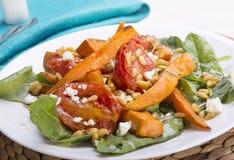 Roast Pumpkin Salad Royalty Free Stock Photography