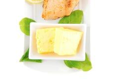 Roast salmon fillet Royalty Free Stock Photo