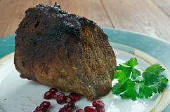 Roast Scotch Fillet Royalty Free Stock Image