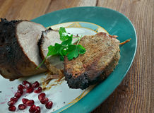 Roast Scotch Fillet Stock Photography